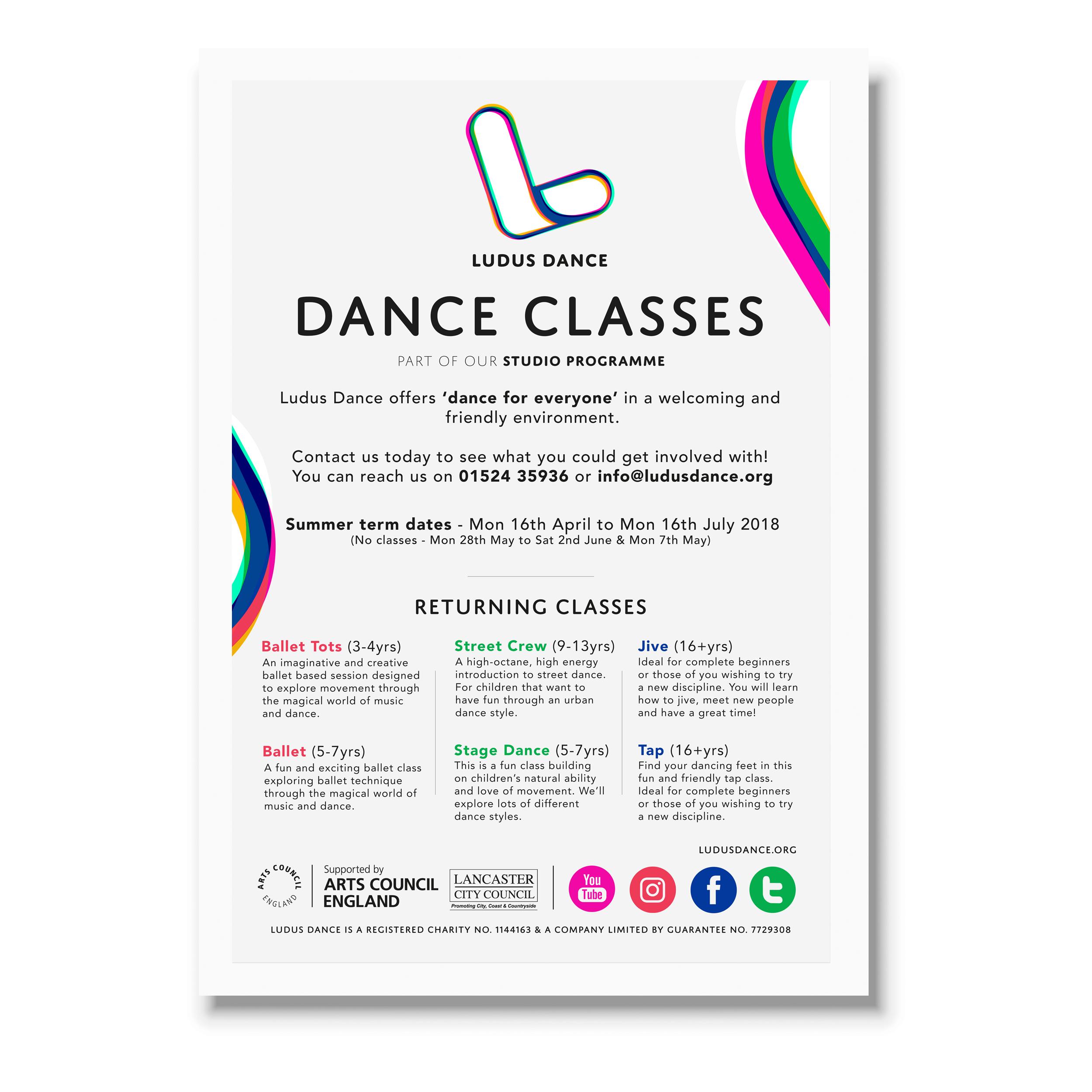 For Ludus Dance (Classes)