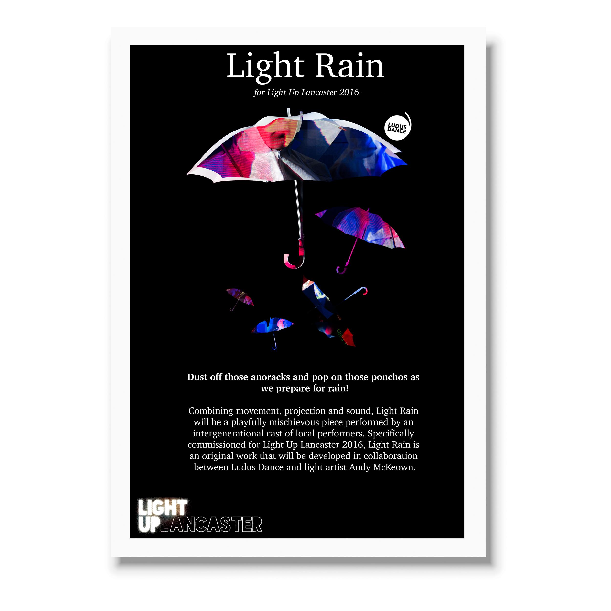 For Ludus Dance (Light Up Lancaster)